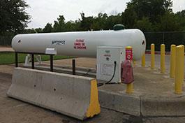 Forklift Refueling Station