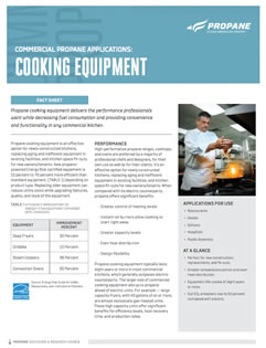 Commercial Propane for Cooking