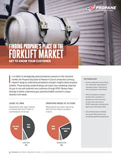 Forklift Market Research Outline
