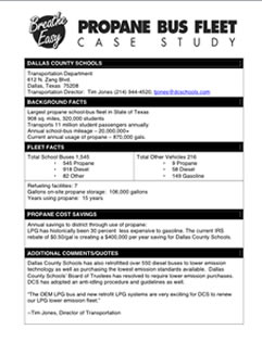 propane bus fleet case study