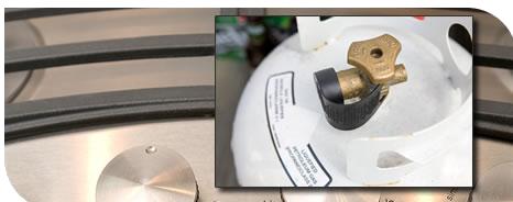 Propane Grill Cylinder Exchange