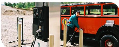 Propane Fuel Station