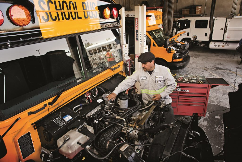 Propane Autogas Conversion School Districts