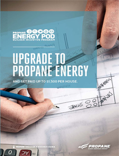 propane energy pod for builders