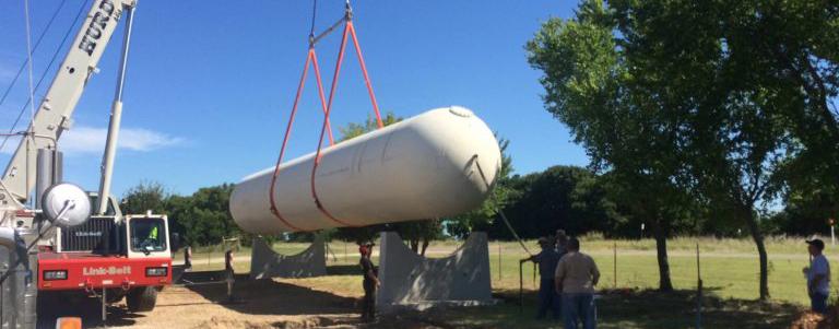 Bulk Propane Storage & Tank Installation