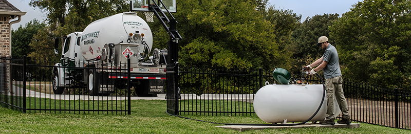 Order Residential Propane Gas Delivery